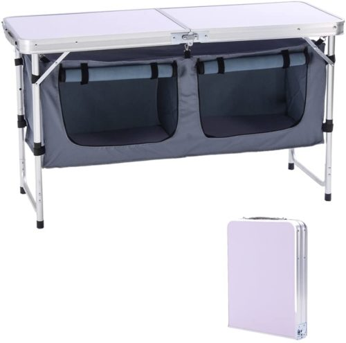 5. CampLand Outdoor Folding Table